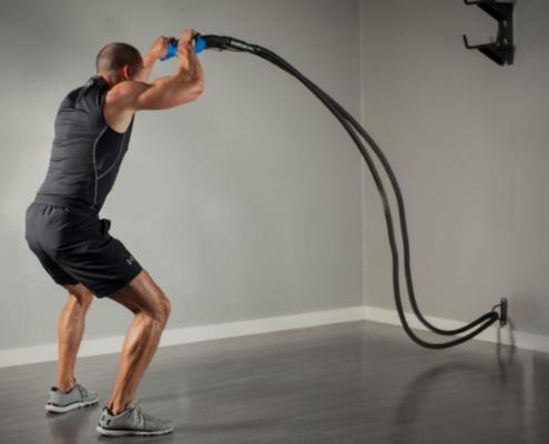 corde ondulatoire battle rope